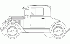 20 FORD 3 Free DXF Vectors File