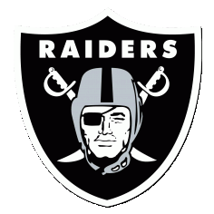250px Oakland Raiders Free Vector DXF File