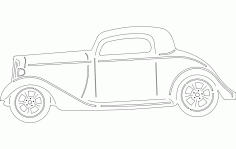 34 Chevy Free DXF Vectors File