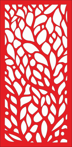 Abstract Tree Screen Vector Free CDR File
