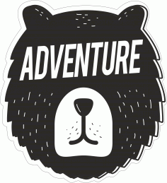 Adventure Sticker CDR File