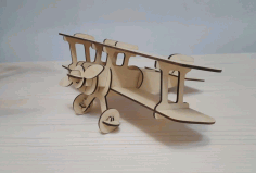 Aircraft Model Laser Cut Free CDR File