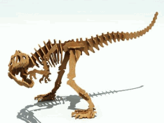 Allosaurus R 6 Mm Laser Cut DXF File