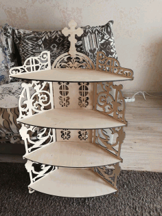 Altar Shelf Laser Cut CDR File