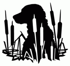Animals Dog Silhouette Free Vector DXF File