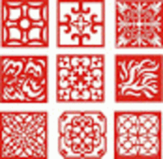 Awesome CNC Pattern Designs CDR File