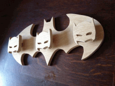 Batman Hanger Coat Rack Free CDR File