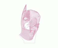 Batman Joker Free DXF Vectors File