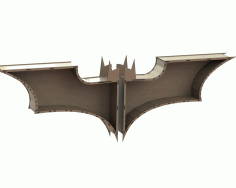 Batman Shelf Laser Cut Free CDR Vectors File