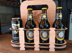 Beer Holder 8 Pack DXF File
