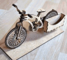 Bicycle Postman for CNC Laser Cut CDR File
