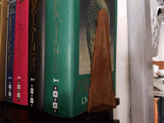 Book End Wooden Stand Stopper DXF File