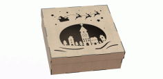 Box Made Of Plywood With A Pattern Cut By Laser Free Download Vector CDR File