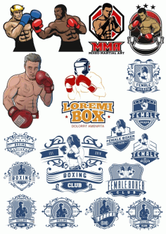 Boxer Vector Illustration Vector HD CDR File