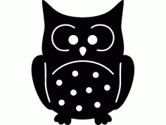 Buho (owl) Free Dxf File For Cnc DXF Vectors File