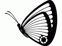 Butterfly 05 Free DXF Vectors File