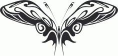 Butterfly Vector Art 015 CDR File
