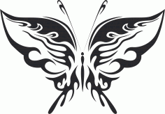 Butterfly Vector Art 019 CDR File