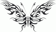 Butterfly Vector Art 01 CDR File