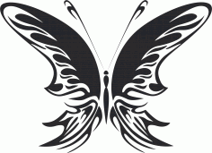 Butterfly Vector Art 022 Free CDR File