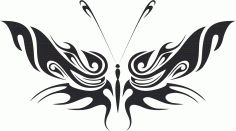 Butterfly Vector Art 034 CDR File