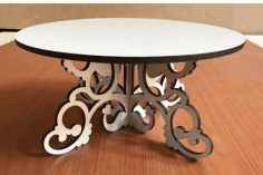 Cake Stand CNC Laser Cutting Free CDR File