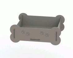 Cat Bed Template Laser Cut CDR File
