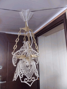 Ceiling Light Lamp 4mm Laser Cut CDR File