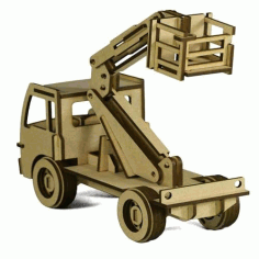 Cherry Picker 4.75mm Laser Cut DXF File