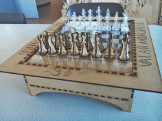 Chess Board CDR File