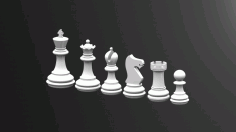 Chess Game Rook DXF File