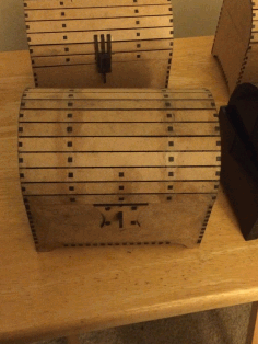 Chest Template Laser Cut CDR File