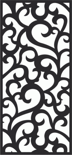 Classic Vetrical Seamless Pattern CDR File