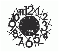 Clock Collection Free Cdr File For Laser Cutting Design 02 Free Vector CDR File