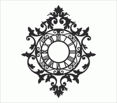 Clock Collection Free Cdr File For Laser Cutting Design 04 Free Vector CDR File