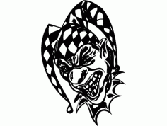 Clown Design 18 Free Download DXF File