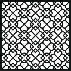CNC File For Laser Cut Pattern 4d7e Free Download Vector DXF File