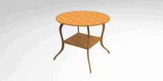 CNC Laser Cutting Simple Stool Free CDR File