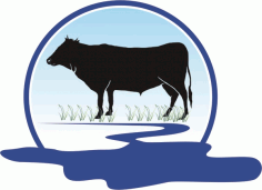 Cow Vector Free CDR Vectors File
