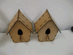 Cuckoo Bird House 3mm CDR File