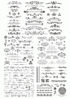 Decor Elements Free CDR Vectors File