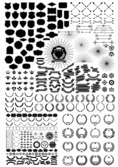 Decor Set Free CDR Vectors File
