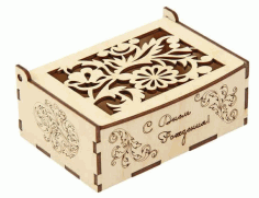 Decorative Box Laser Cut Vectors CDR File