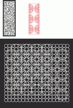 Decorative Design Pattern 04 CDR File