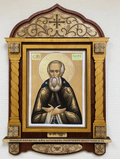 Decorative Frame Saint Joseph Laser Cut CDR File
