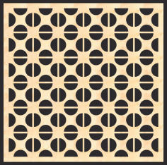 Decorative MDF Screen Pattern Free Vector CDR File