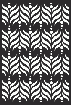 Decorative Screen Grille Panel Pattern Free Vector CDR File