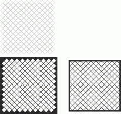 Decorative Screen Panel Pattern Free CDR Vectors File