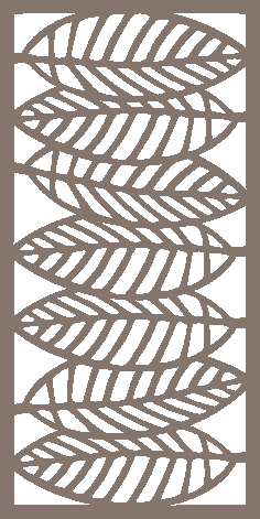 Decorative Screen Pattern Dxf Vector Design 04 DXF File