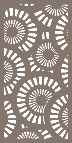 Decorative Screen Pattern Dxf Vector Design 07 DXF File